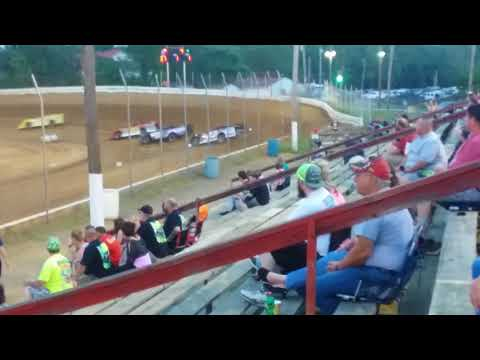 Tyler Emory Potomac Speedway Heat Race