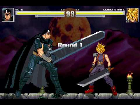 GutsBerserk Vs CloudFinal Fantasy VII YouTube