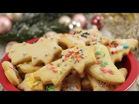Ausstechplätzchen Omas Rezept ♥ | Weihnachtskekse backen | Keksteig | Plätzchen backen mit Kindern