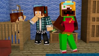 Minecraft : FILHO DA MALENA !! ( Build Battle)