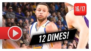 Stephen Curry Full Highlights vs Kings (2017.03.24) - 27 Pts, 12 Ast, 7 Reb, TOO GOOD!