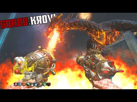 "BLACK OPS 3 ZOMBIES ""GOROD KROVI"" EASTER EGG GAMEPLAY WALKTHROUGH! (BO3 Zombies)"