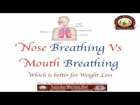 Do You Know Which Is Better,  Nose vs. Mouth Breathing For Weight Loss?