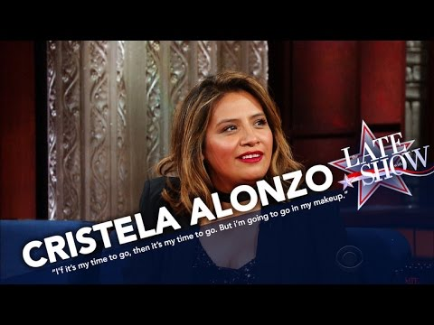 Cristela Alonzo Is Not About To Let You Steal Her Makeup