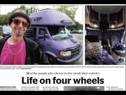 More vanlife radio and newspaper interviews!