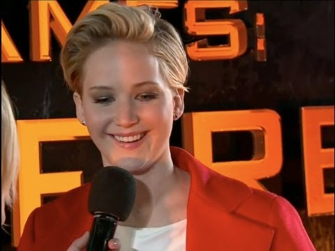 Jennifer Lawrence Interview at Catching Fire UK Premiere
