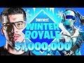 *NEW* Fortnite Winter Royale Game Mode! - $1,000,000 in Prizes! (Fortnite Battle Royale)