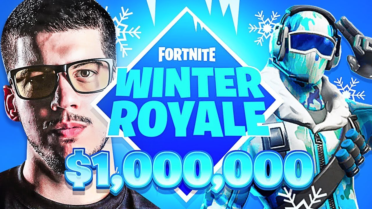 new fortnite winter royale game mode 1 000 000 in. Black Bedroom Furniture Sets. Home Design Ideas
