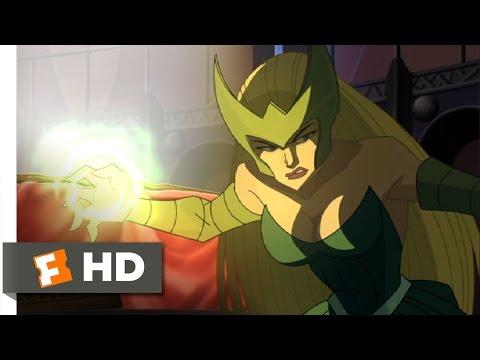Hulk Vs. (4/5) Movie CLIP - Sif and Enchantress (2009) HD