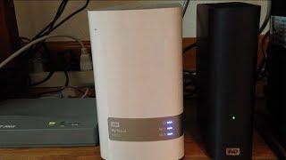 WD my cloud 4TB hard drive set up!!