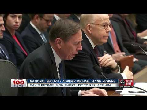 National Security Adviser Michael Flynn resigns