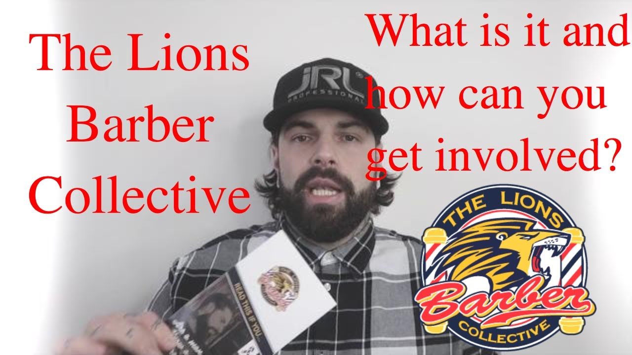 the lions barber collective - what is it and how can you get