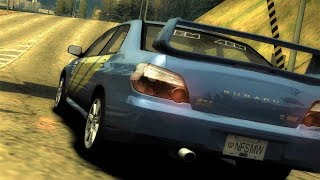 Need For Speed Most Wanted Tollbooth Time Trial Challenge - SUBARU IMPREZA WRX