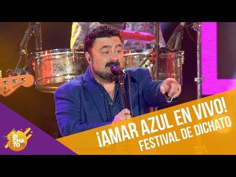 Amar Azul en vivo   Festival de Dichato 2018