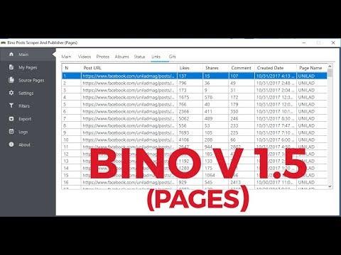Home   Bino Posts Scraper & Publisher