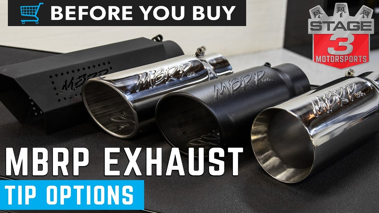 mbrp exhaust tip options