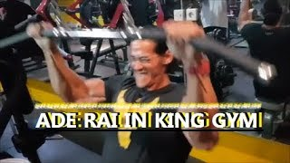 ADE RAI workout in King Gym Indonesia !!!