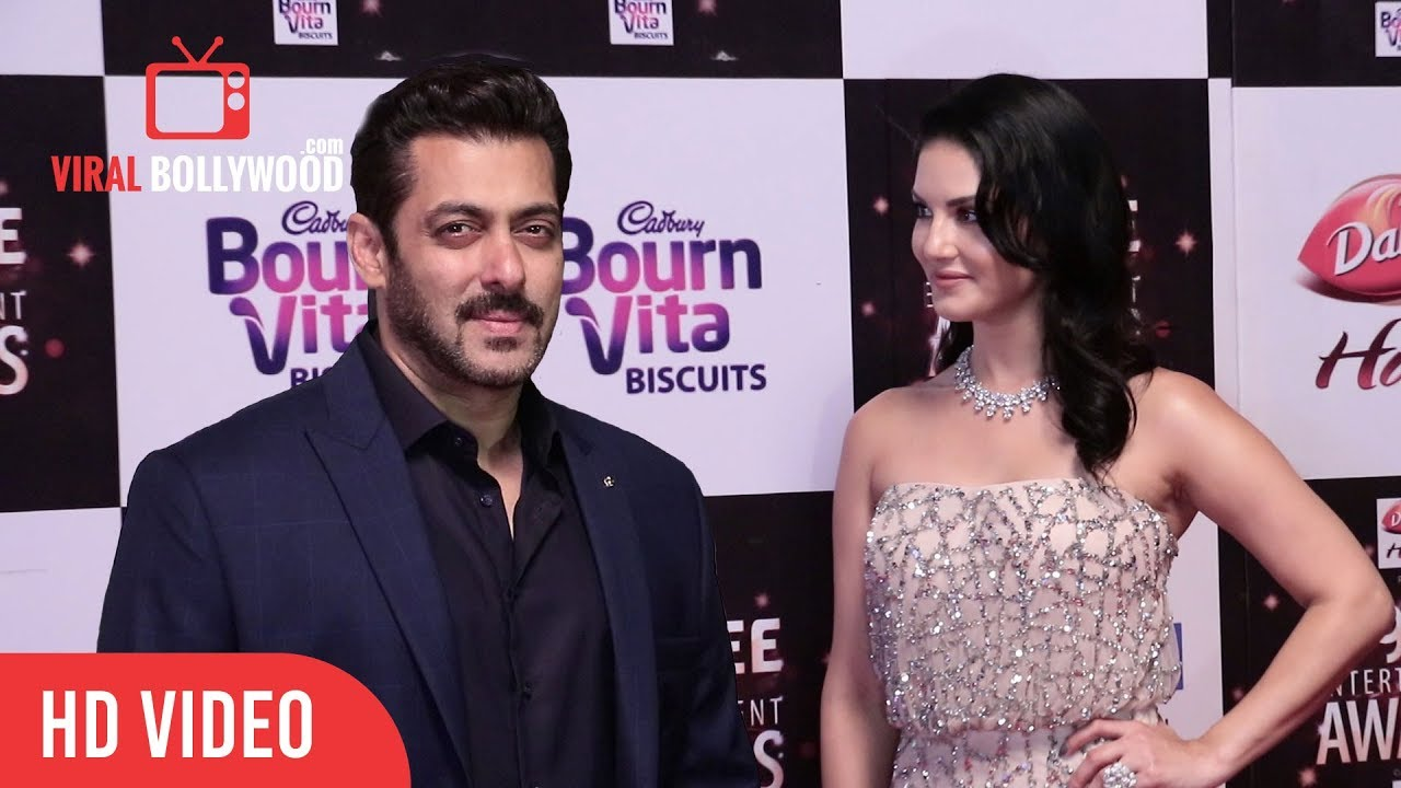 Sunny Leone And Salman Khan At Big Zee Entertainment -2082