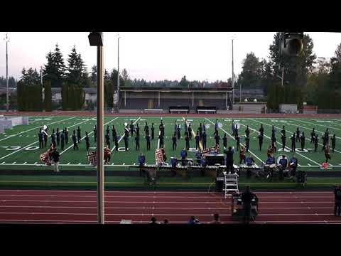 Ferndale High School Marching Band @ Music in Motion 10/6/2018