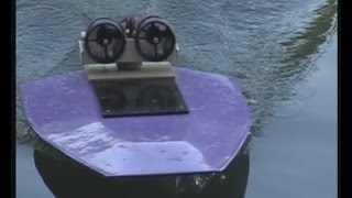 Rc Airboat With 2 Ducted Fan