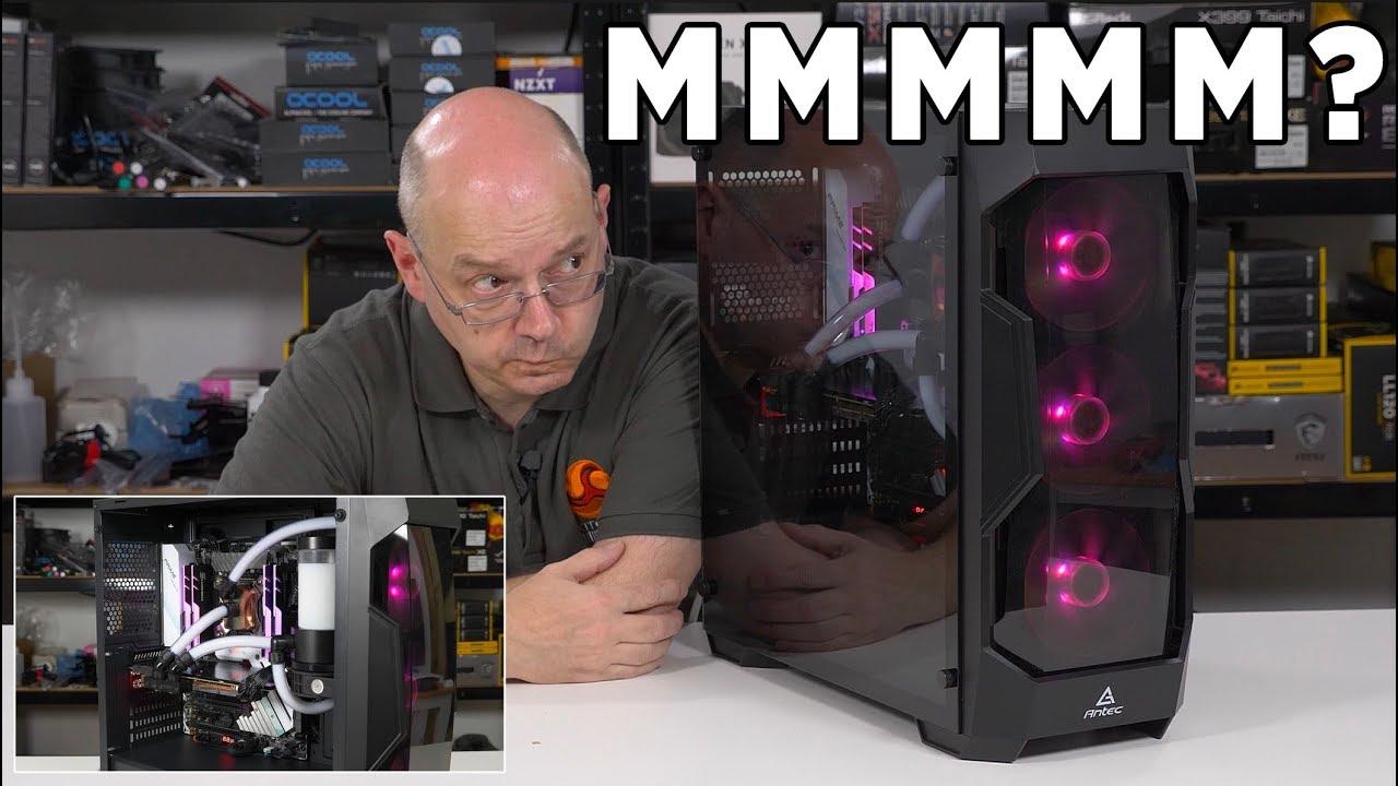 antec df500 rgb  Antec DF500 RGB Review - Nice RGB, shame about the case! - YouTube