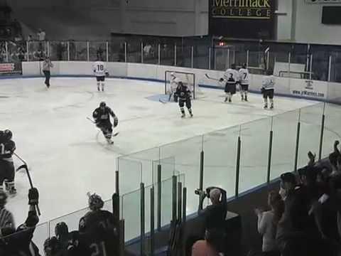 Super 8 Hockey 2009  Malden Catholic vs Needham