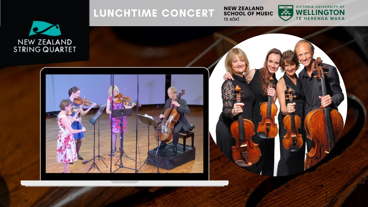 Online May Lunchtime Concert at NZSM