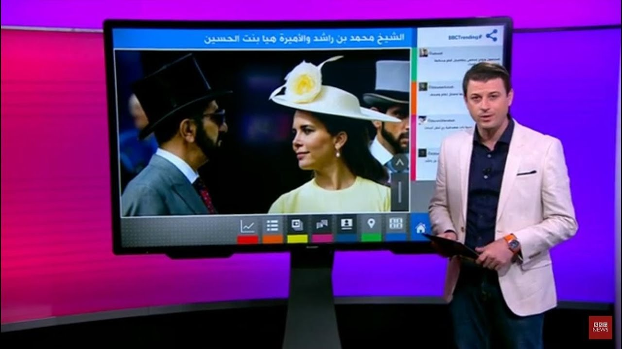بدأ جلسات الاستماع لحاكم دبي محمد بن راشد آل مكتوم وزوجته هيا بنت الحسين في لندن