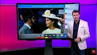 الأميرة هيا والشيخ محمد بن راشد امام القضاء البريطاني في اولى جلسات الاستماع