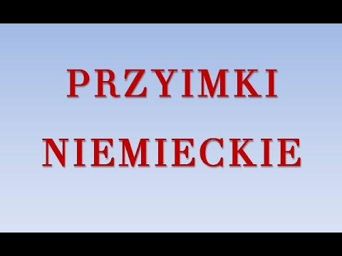 Przyimki - niemiecki