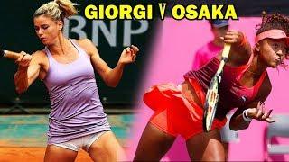 Giorgi vs Naomi Osaka Tokyo