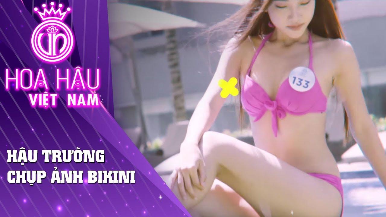 Hoa hậu Việt Nam | Hậu trường chụp ảnh Bikini