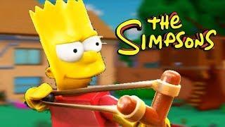 JOGAR COM O BART É MUITO LEGAL!!!    The Simpsons Hit And Run #3 (Gameplay Em Português)
