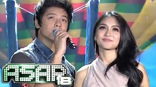 Repeat youtube video Kathryn & Daniel sing 'Grow Old With You' on ASAP 18