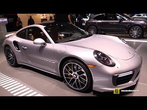 2017 Porsche 911 Turbo S - Exterior and Interior Walkaround - 2017 New York Auto Show