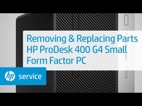 Service Teardown: HP ProDesk 400 G4 Small Form Factor PC | HP Computer Service | HP