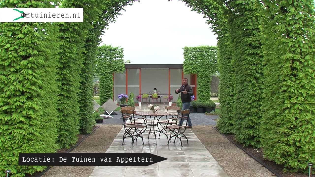 Klassieke tuin aanleggen youtube for Afvoerput tuin aanleggen