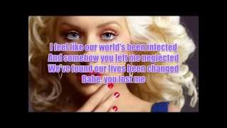 Christina Aguilera - You Lost Me with Lyrics