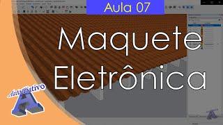 Curso de Maquete Eletrônica com SketchUp - Aula 07/50 Telhas - Autocriativo