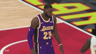 Los Angeles Lakers vs Atlanta Hawks NBA Today 2/12 Lakers vs Hawks Full Game Highlights