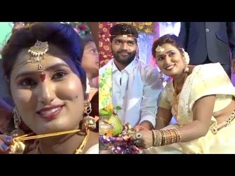 స్వాతి నాయుడు పెళ్లి వీడియో ..Swathi Naidu Marriage With Avinash In Vijayawada..Telugu Anchor..