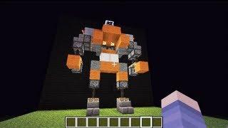Minecraft Transformer style Robot