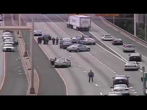 Police Chase connecticut state, los angeles and in louis country October 2017