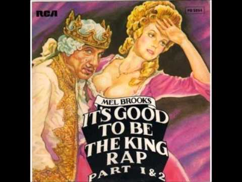 """Mel Brooks - It's Good To Be The King 12"""" extended version"""