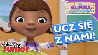 🤒 Nauka dbania o siebie! | Klinika dla pluszaków | Disney Junior Polska