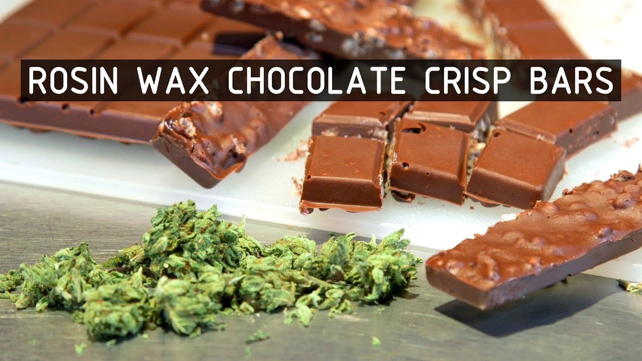 How To Make Chocolate Crisp Bar Cannabis Edibles with Rosin Wax: Cannabasics #104