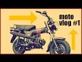 Premier moto vlog #1 en dax !?