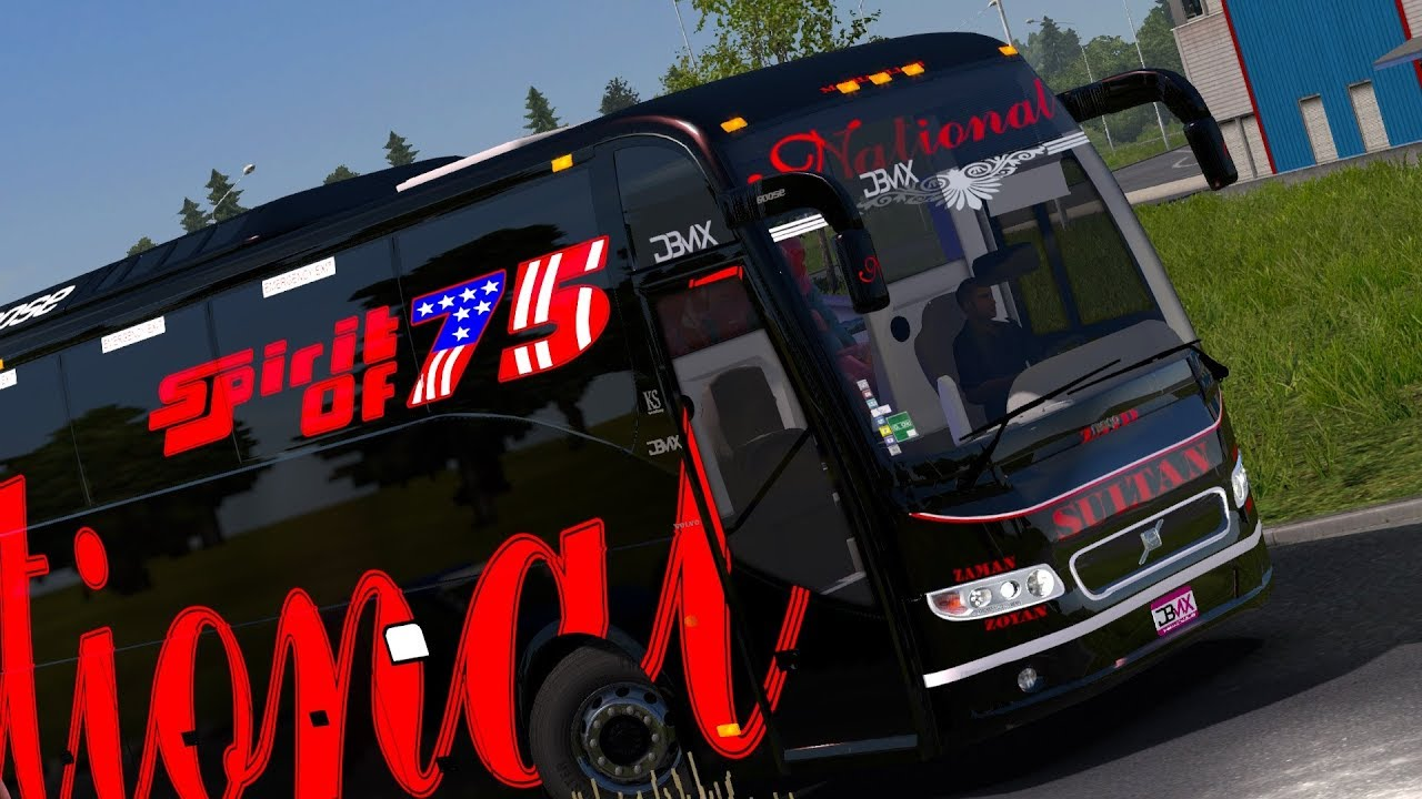 National Travels Sultan Volvo B11r Ets2 Indian Bud Mod
