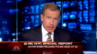 Nbc news: robin williams dead (8/11/2014)