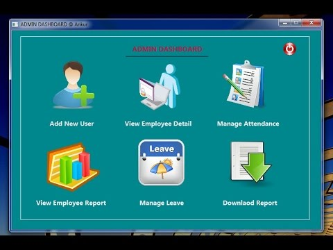 Attendance Mgmt  System Project in JAVA Desktop Application--ANKUR GUPTA